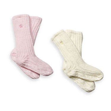 Dream Silk Cozy Socks, $9.99