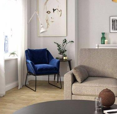 Room & Joy Velvet Accent Chair, $169.99