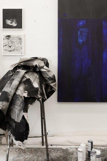 Monica Perez's studio