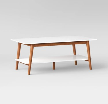 Target Project 62 Amherst Mid-Century Modern Two-Tone Coffee Table