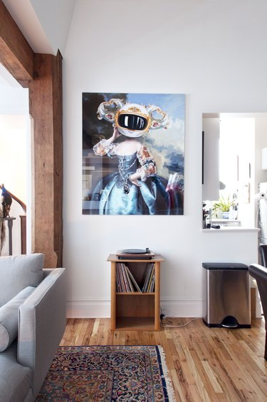 Artwork on wall