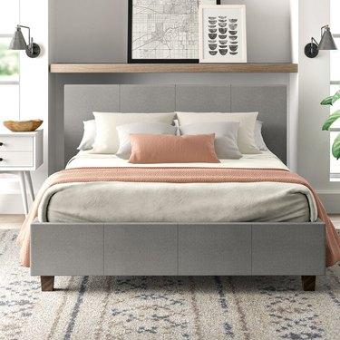 Eton Upholstered Platform Bed