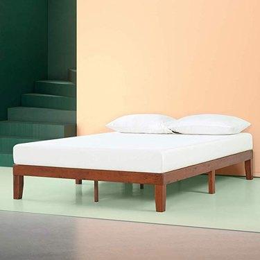 Zinus Wen Wood Platform Bed Frame