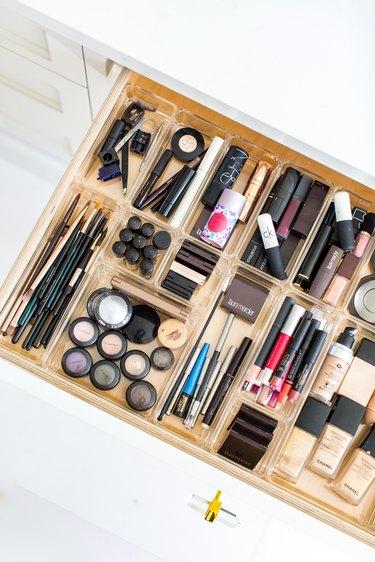 bathroom drawer by professional organizer Jen Robin