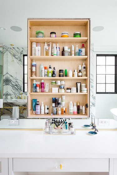 bathroom by professional organizer Jen Robin