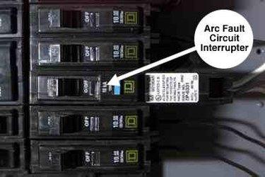 AFCI circuit breaker.