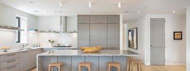 white kitchen staging ideas