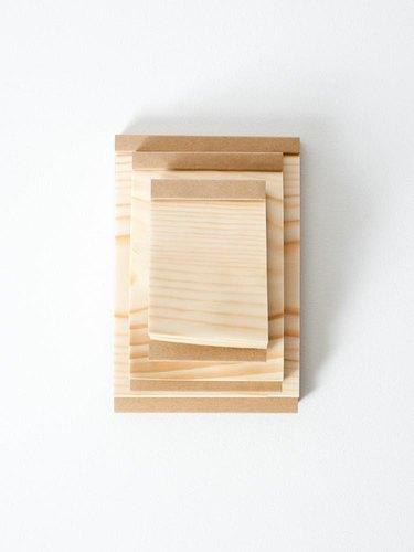 Kizara Wood Sheet Memo Pad
