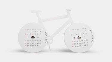 goodmorning Bike Calendar Kit