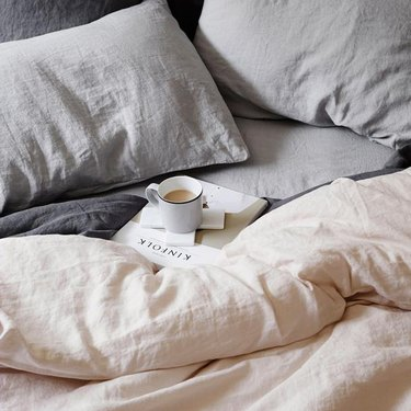 Australian brand Cultiver linen bedding