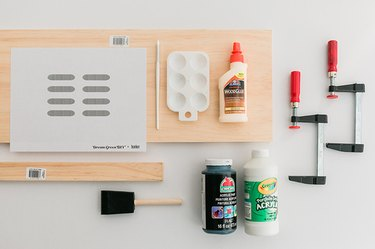 Here's what you'll need to make your paper tray.