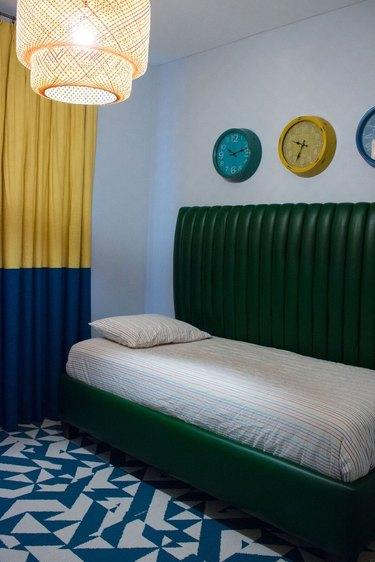 woven pendant bedroom lighting