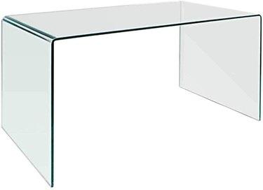 Neos Modern Furniture Bent Glass Desk, $429.99