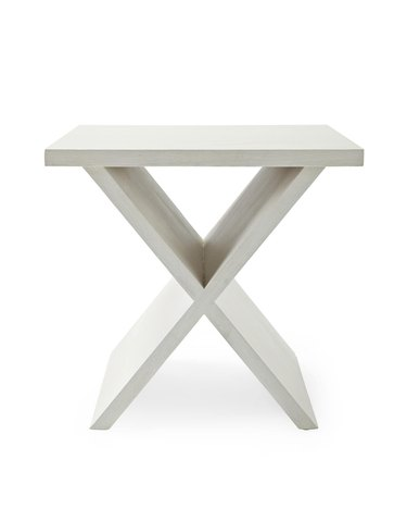x-shaped table
