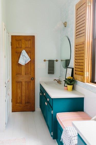 painted bathroom vanity ideas