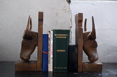 Caribou bookstands