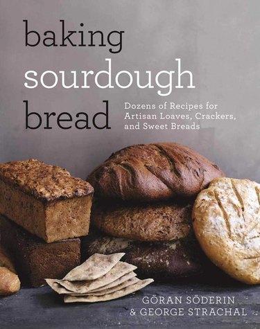 "book titled ""baking sourdough bread"""