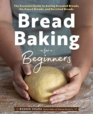 """book with title """"break baking for beginners"""""""
