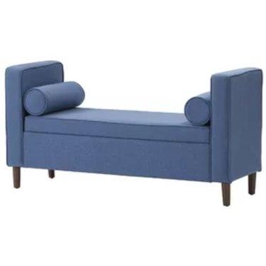 joss and main telesphorus upholstered storage bench