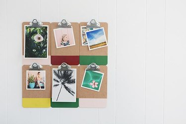 Colorful Clipboard Frames