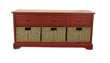 home depot decor therapy montgomery storage bench