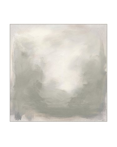 Gray abstract painting