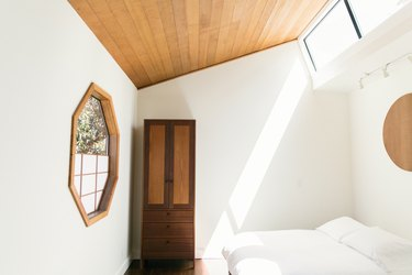 Bedroom with window and natural light