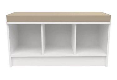 cubicals shoe storage bench