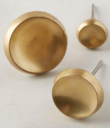 gold drawer knobs