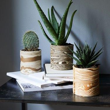 artisanal planter ideas