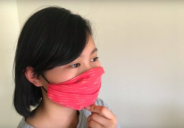 no sew face mask DIY
