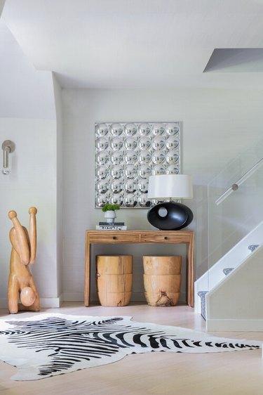 acrylic modern stair railing