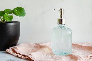 DIY hand sanitizer recipe