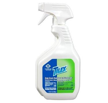bottle of tilex soap scum remover
