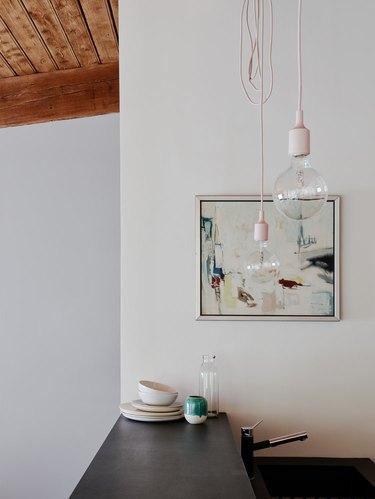 minimalist kitchen wall decor