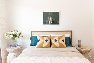 minimalist boho bedroom