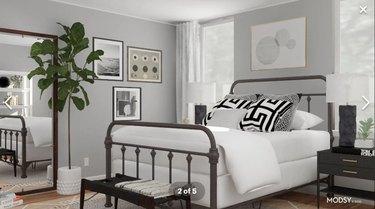 Modsy bedroom design