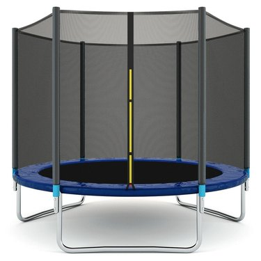 Gymax 8 FT Trampoline Combo Bounce Jump Safety Enclosure, $347.99