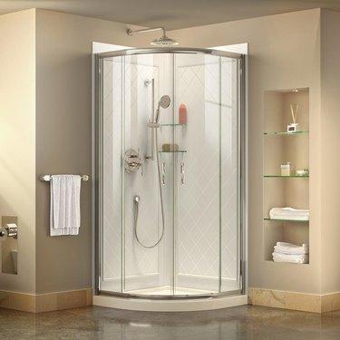 Acrylic shower by DreamLine