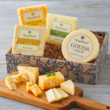 harry and david gourmey cheese collection