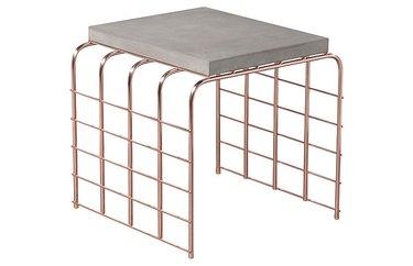 concrete table