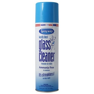Foaming glass cleaner manufactured by Sprayway