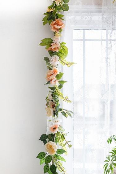 Summer flower garland