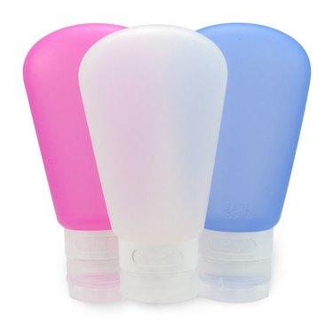 silicone travel bottles