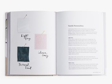 pages of book with illustrations and text