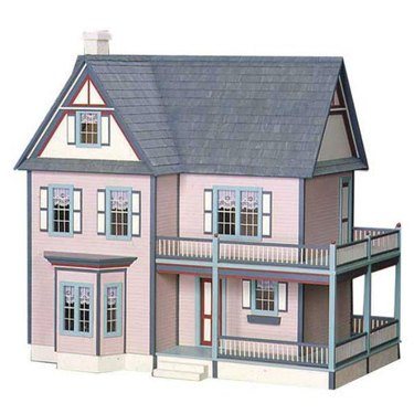 Little Shop of Miniatures Victorian Dollhouse Kit, $349.99