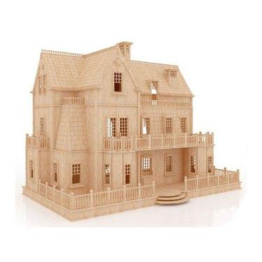 Gothic Villa Mansion Dollhouse Kit, $127.50