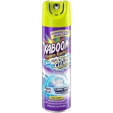 Kaboom with OxiClean Foam-tastic Bathroom Cleaner