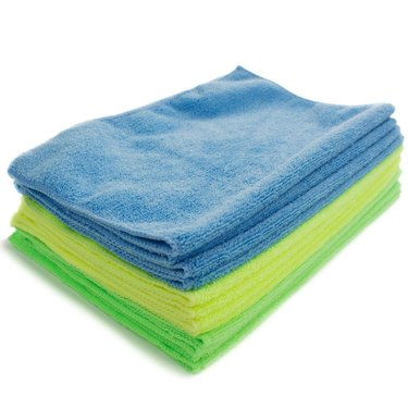 Zwipes Microfiber Towel Cleaning Cloths, 12-Pack