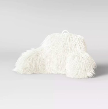 opalhouse faux fur bed rest pillow